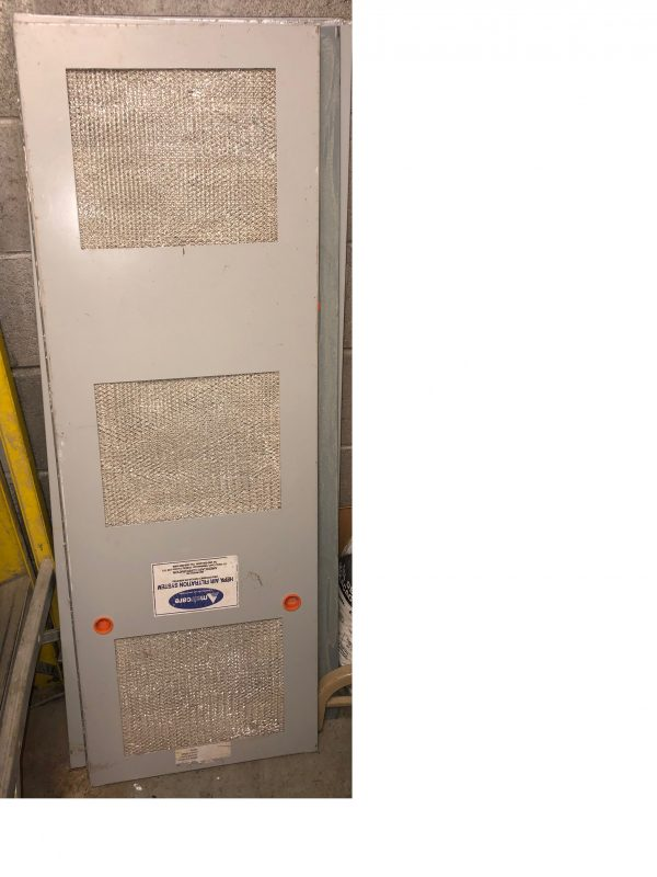 Pre-filter door for warehouse use